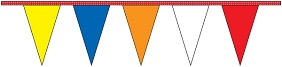 Multi-Color Pennants Strings