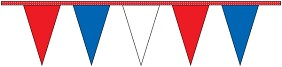 Red, White & Blue Pennants Strings