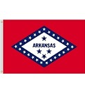 3'x5' Arkansas Nylon Flag