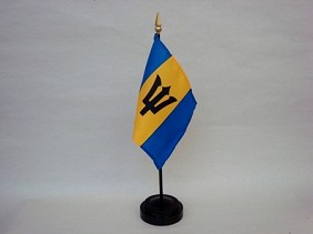 "4""x6"" Miniature Barbados Flag"