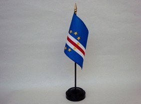 "4""x6"" Miniature Cape Verde Flag"