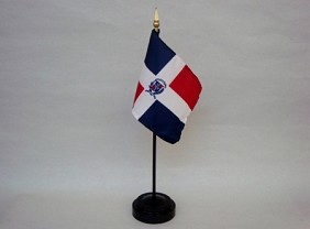 "4""x6"" Miniature Dominican Republic Flag"