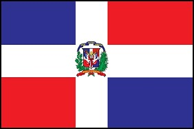 2'x3' Dominican Republic Flag