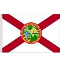 3'x5' Florida Polyester Flag