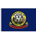 "12""x18"" Idaho Nylon Flag"