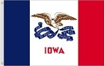 Iowa Polyester Flags