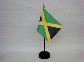 "4""x6"" Miniature Jamaica Flag"