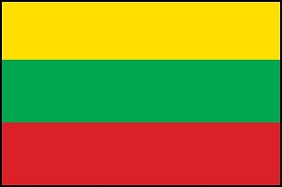 "12""x18"" Lithuania Flag"