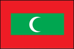 4'x6' Maldives Flag