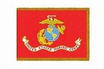 Marine Corps Indoor Flags