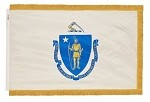 Massachusetts Indoor Flags