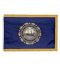 4'x6' New Hampshire Indoor Flag