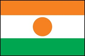3'x5' Imported Niger Flag