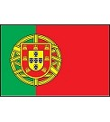 3'x5' Imported Portugal Flag