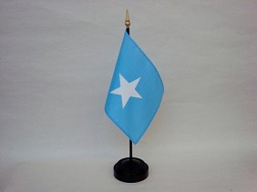 "4""x6"" Miniature Somalia Flag"
