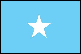 3'x5' Imported Somalia Flag