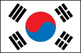 4'x6' South Korea Flag