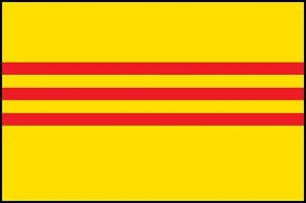 2'x3' South Vietnam Flag