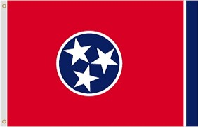 5'x8' Tennessee Polyester Flag