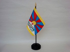 "4""x6"" Miniature Tibet Flag"