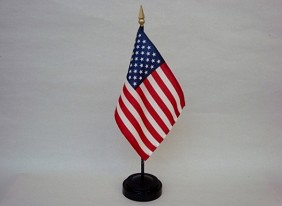 "4""x6"" Miniature United States Flag"