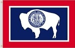 Wyoming Nylon Flags