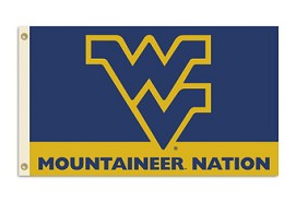 West Virginia Mountaineers Flag