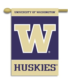 Washington Huskies Yard Banner