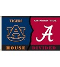 House Divided - Alabama/Auburn Flag