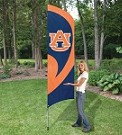 Auburn Tall Team Flag