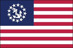 "16""x24"" US Yacht Ensign"
