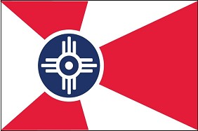 3'x5' Wichita, KS Flag