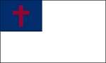5'x8' Christian Polyester Flag