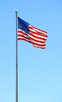 70' High Grade Aluminum Flagpole