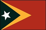 4'x6' East Timor Flag