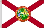 3'x5' Florida Nylon Flag