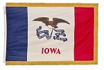 4'x6' Iowa Indoor Flag