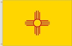 New Mexico Polyester Flags