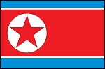 3'x5' North Korea Flag