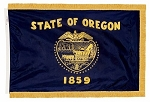 4'x6' Oregon Indoor Flag