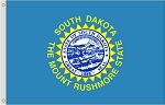 5'x8' South Dakota Nylon Flag