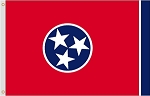 8'x12' Tennessee Nylon Flag