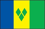 4'x6' St Vincent & The Grenadines Flag