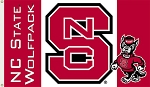 N. Carolina State Wolfpack Flag