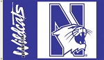 Northwestern Wildcats Flag