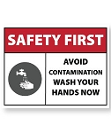 Restroom Decal-Remember to Wash Hands