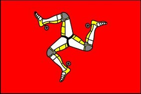 4'x6' Isle of Man Flag