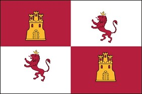 5'x8' Lions And Castles Flag