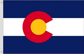 3'x5' Colorado Polyester Flag
