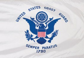 4'x6' Coast Guard Flag